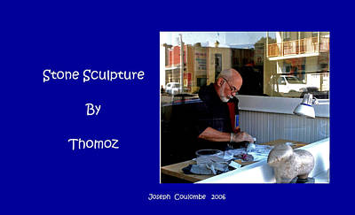 Photograph - Stone Sculpture By Thomoz Lee  by Joseph Coulombe