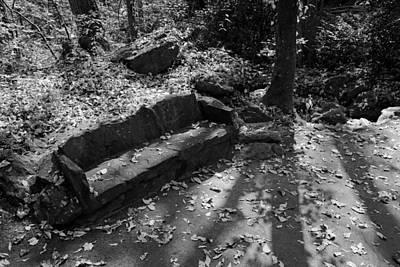 Photograph - Stone Sofa by Daniel Woodrum