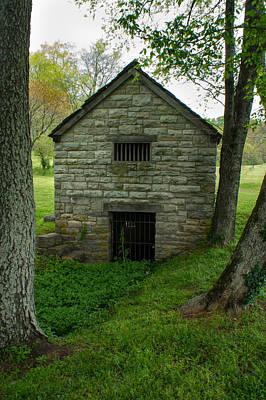 Grate Photograph - Stone Spring House 1 by Douglas Barnett
