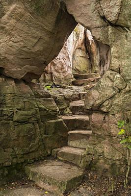 Soap Suds - Stone Steps Arch 1 by John Brueske