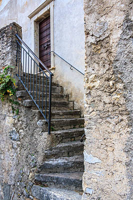 Photograph - Stone Steps by Susan Leonard