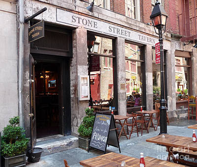 Photograph - Stone Street Tavern by Steven Spak