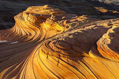 Photograph - Stone Swirls by Joseph Rossbach