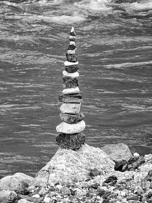 Stone Tower Art Print by Fabian Roessler