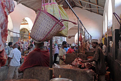 Photograph - Stone Town Market by Tony Murtagh