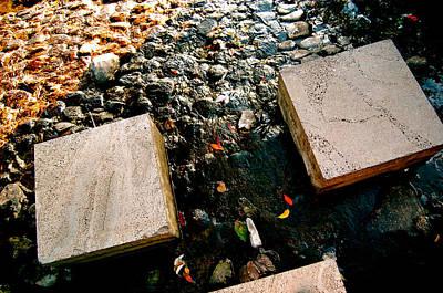 Stone Walking Art Print by Yen