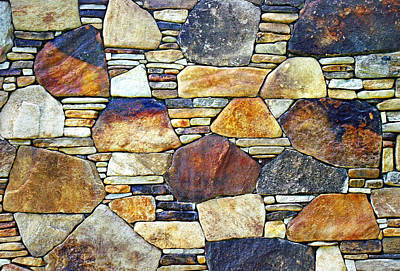 Photograph - Stone Wall 1 by Duane McCullough