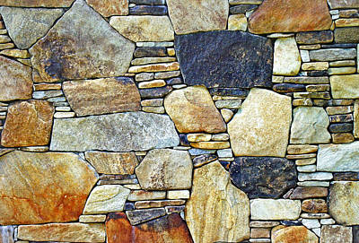 Photograph - Stone Wall 2 by Duane McCullough