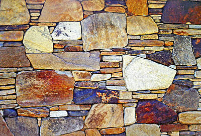 Photograph - Stone Wall 3 by Duane McCullough
