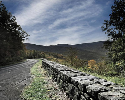 Photograph - Stone Wall by Dawn Gari