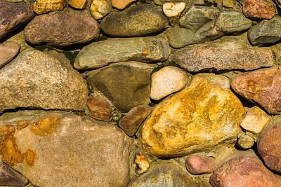 Stone Wall - Featured 3 Art Print by Alexander Senin