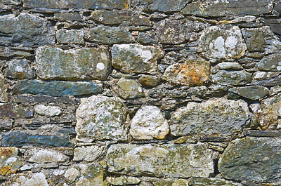 Photograph - Stone Wall by Jane McIlroy