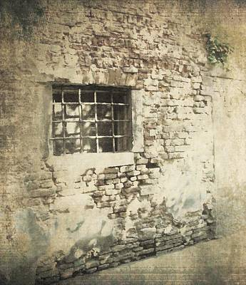 Photograph - Stone Wall by Lisa Kaye