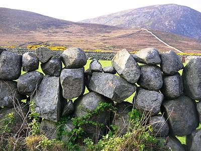 Photograph - Stone Wall by Nigel Cameron