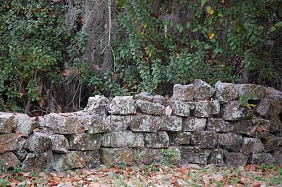Photograph - Stone Wall - Photograph by RD Erickson