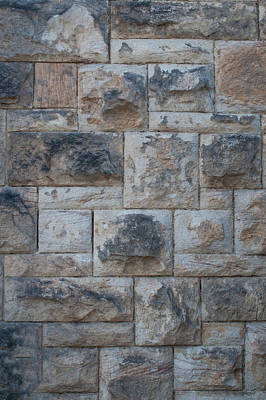 Photograph - Stone Wall by Tikvah's Hope
