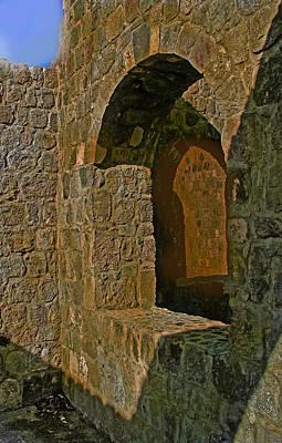Rowing - Stone Walls At Lambert Plantation by Ian  MacDonald