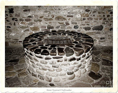 Photograph - Stone Well At Old Fort Niagara by Rose Santuci-Sofranko