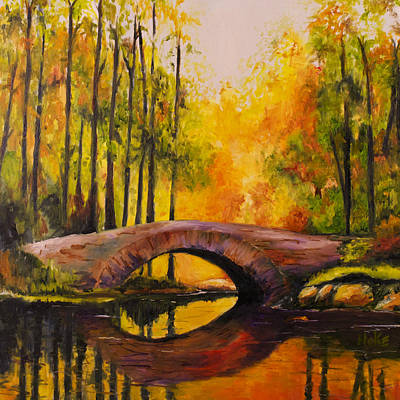 Painting - Stonebridge by Scott Hoke