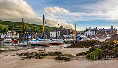 Stonehaven Harbour Original by Mike Stephen