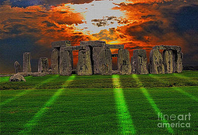 Photograph - Stonehenge At Solstice by Skye Ryan-Evans