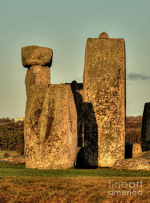 Photograph - Stonehenge At Sunset by Deborah Smolinske