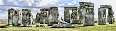 Photograph - Stonehenge by Gordon Engebretson