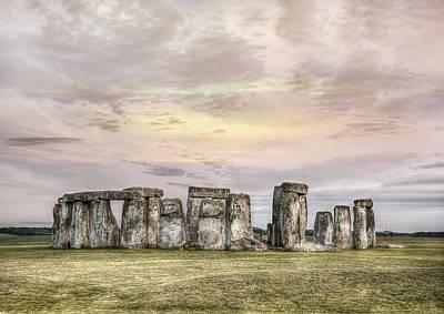 Photograph - Stonehenge  by Gouzel -