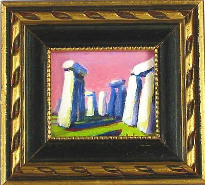 Stonehenge I Original by Les Leffingwell