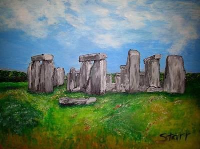 Stonehenge Original by Irving Starr