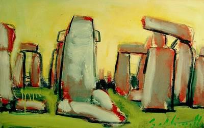 Stonehenge  Original by Les Leffingwell