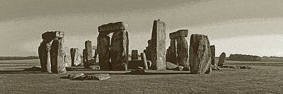 Photograph - Stonehenge Modified by Cliff Wassmann