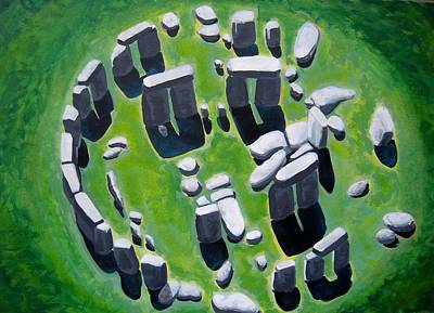 Stonehenge Art Print by Mitchell McClenney
