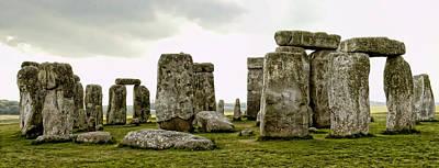 Stonehenge Panorama Print by Jon Berghoff