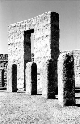 Stonehenge Replica Art Print by Chalet Roome-Rigdon