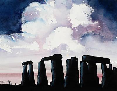 Painting - Stonehenge by Richard Mordecki