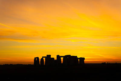 Photograph - Stonehenge Sunset by Ken Brannen