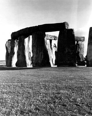 Stonehenge Photograph - Stonehenge View by Retro Images Archive