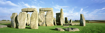 Megalith Photograph - Stonehenge, Wiltshire, England, United by Panoramic Images