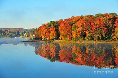 Stoneledge Lake Highway View Art Print