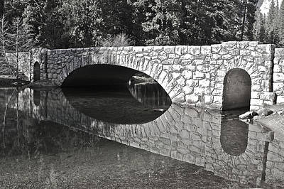 Photograph - Stoneman Bridge by SC Heffner