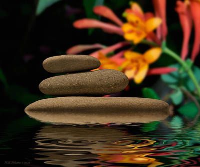 Photograph - Stones 2 by WB Johnston