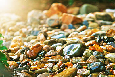 Photograph - Stones by Debbie Sikes