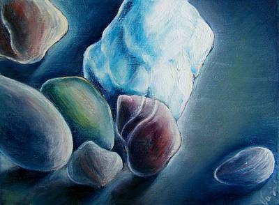 Stones I Like Art Print by Vanja Zogovic