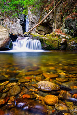 Photograph - Stones In The Stream by Jeff Sinon