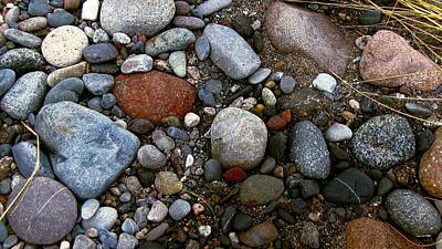 Photograph - Stones by Jennifer Wheatley Wolf