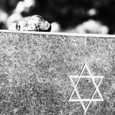 Magen David Photograph - Stones Of David by Yevgeni Kacnelson