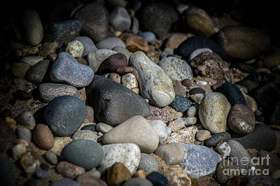 Photograph - Stones On Beach by Ronald Grogan