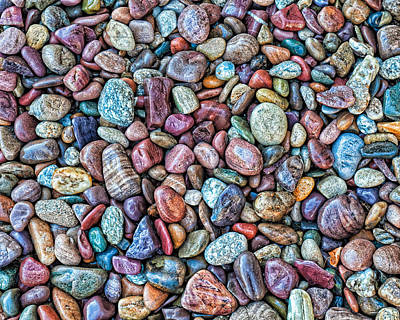 Photograph - Stones by Thomas Hall