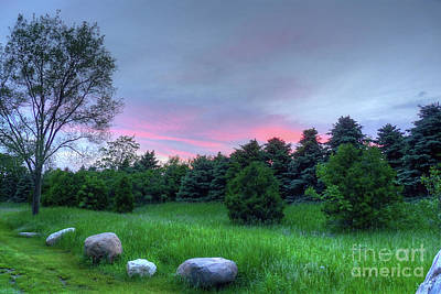 Photograph - Stone's Throw Sunset by Deborah Smolinske